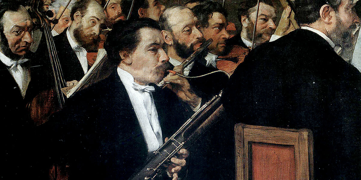 Edgar Degas - The Orchestra at the Opera