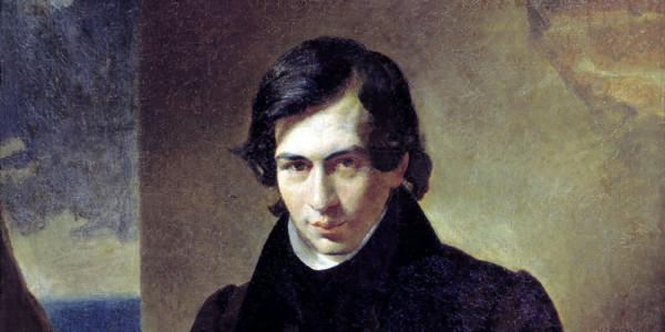 Portrait of the Poet and Playwright Nestor Kukolnic. Karl Bryullov