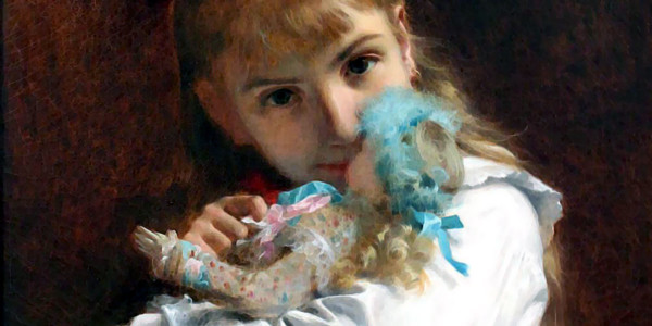 A New Doll. Pierre-Auguste Cot