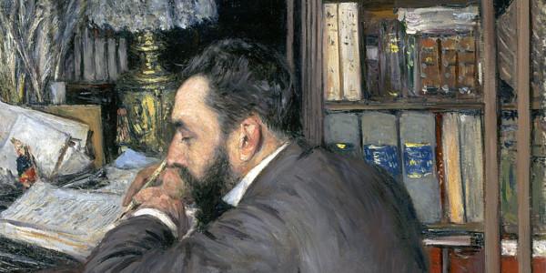 Henri Cordier (1883). Gustave Caillebotte