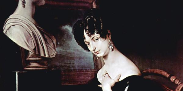 Cristina Trivulzio di Belgiojoso. Francesco Hayez