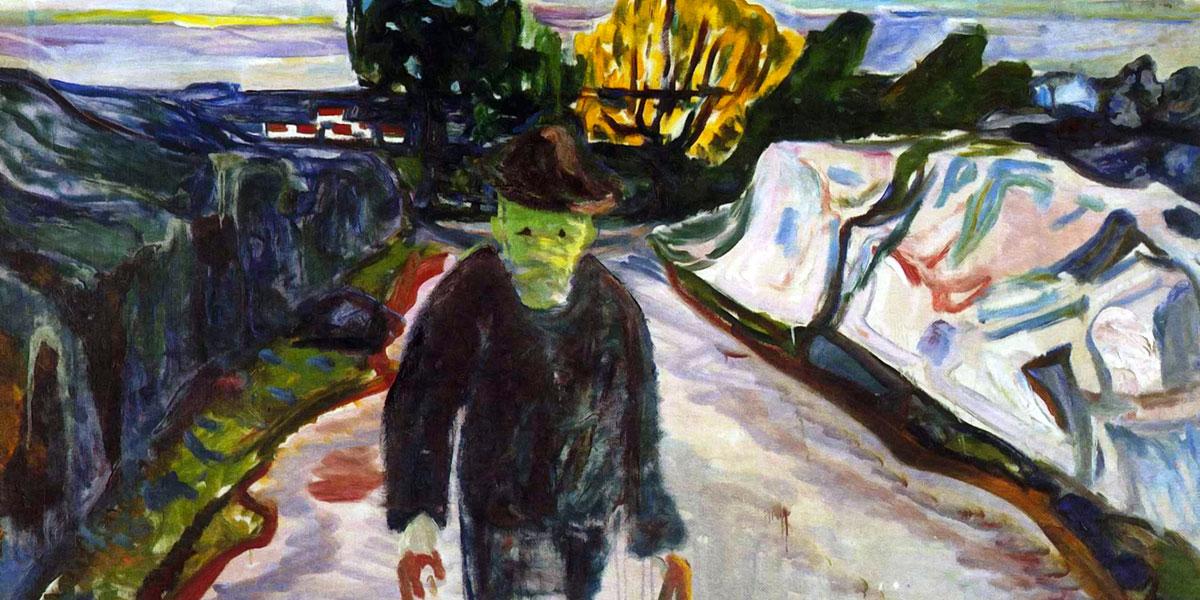 The Murderer. Edvard Munch