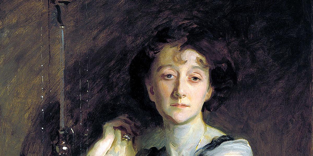 Ritratto di Adah Russell. John Singer Sargent