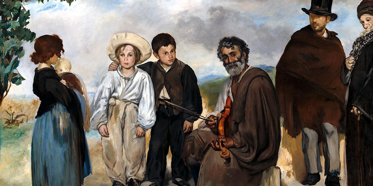 Édouard Manet. Le Vieux Musicien