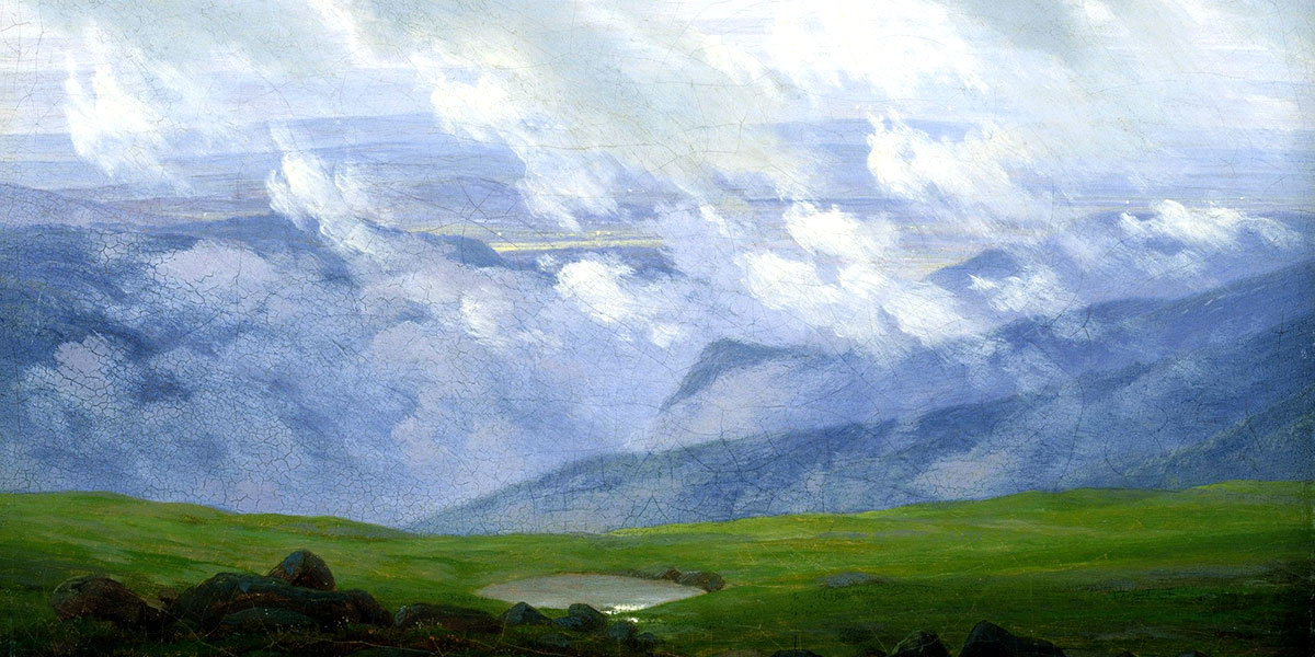 Drifting Clouds. Caspar David Friedrich