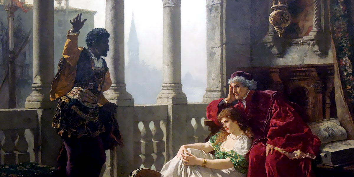 Carl Ludwig Friedrich Becker - Otello e Desdemona