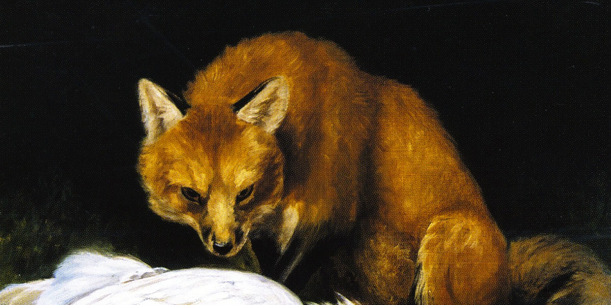 The Fox - Fair Game. Alexander Pope